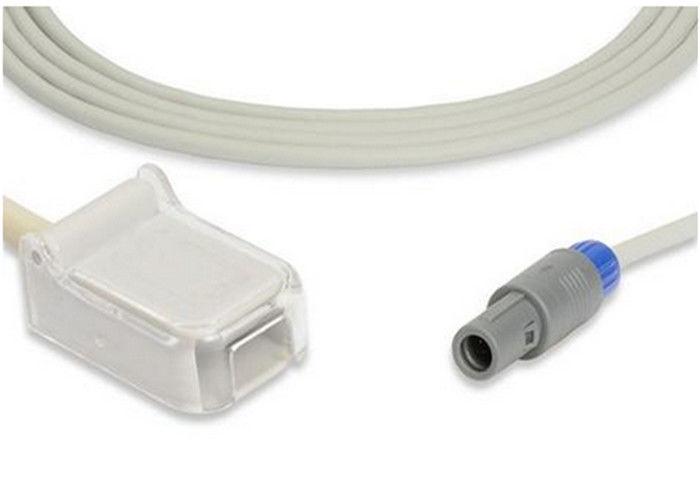 Compatilbe goldway UT4000a spo2 adapter cable / extension cable with 5pin one notch CE And ISO approved